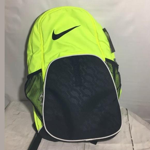 c705dfe90e Nike Backpack School Bookbag Gym Neon Green